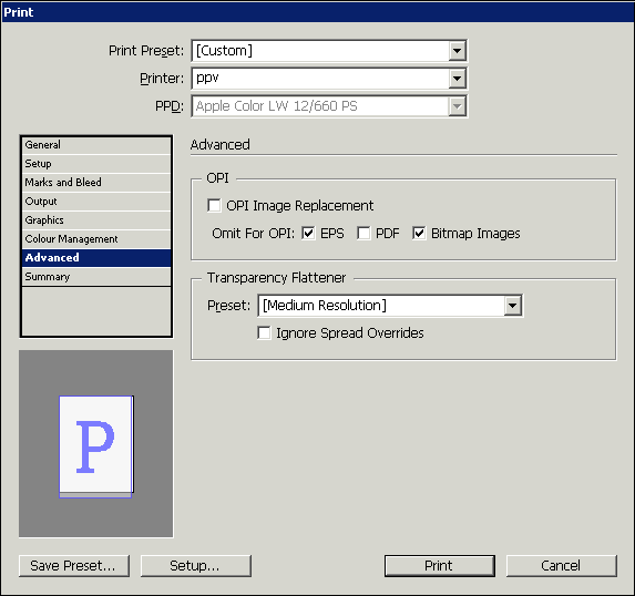 indezign prepare pdf for print cmyk output