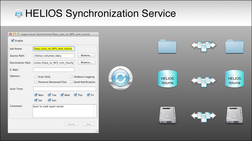 macOS Server migration to a HELIOS server