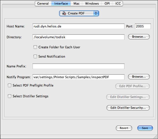 Create PDF Server